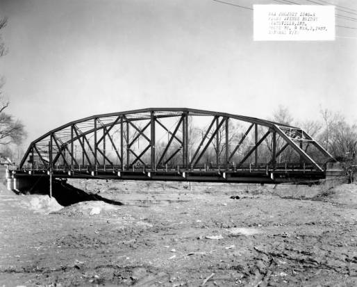Here, the nearly finished project on March 3, 1937. Source: MSS 055-023, Mack Saunders collection.
