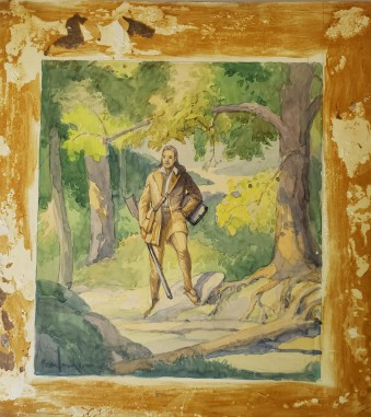 Frank Nuderscher Painting.