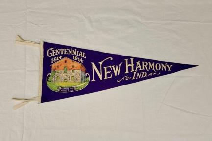 New Harmony Centennial Pennant.