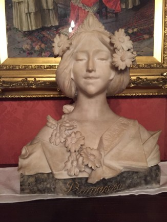 """Primavera"" Female Bust."