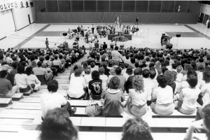 Independence bill signing creating USI in 1985.