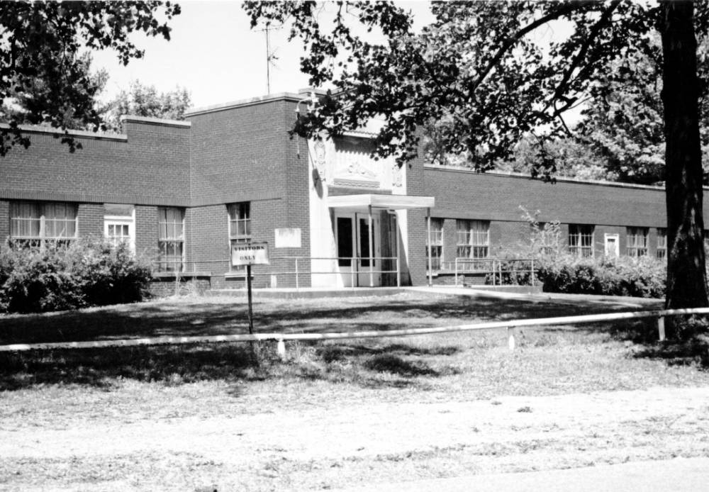 Old Boehne Hospital, circa 2012, now razed. Source: UASC, RH 031-023.